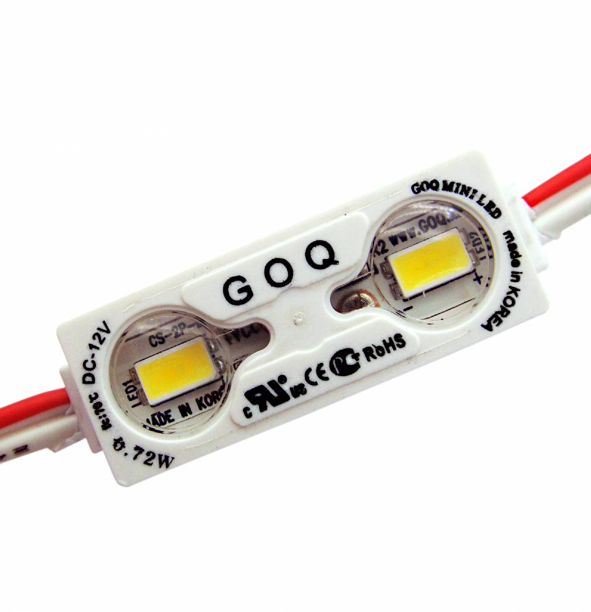 Module 2xLED 150 degree Warm White Mini