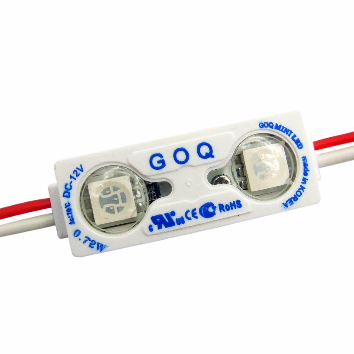 Module 2xLED 150 degree Blue Mini