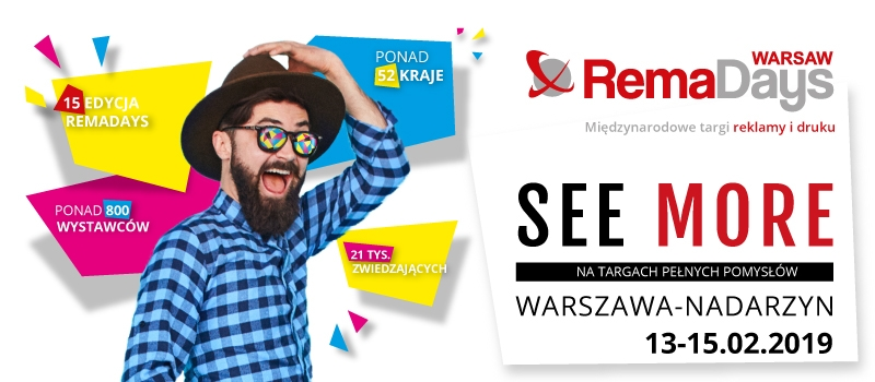 Spotkajmy się na RemaDays 2019 w Warszawie!